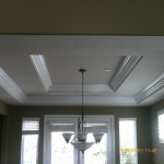 Double crown molding after