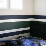 boys bedroom stripes