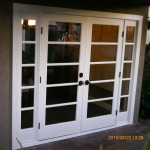 exterior french doors after
