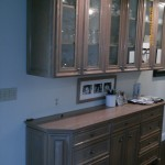 Cabinets before antiquing