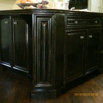black antique and distressed
