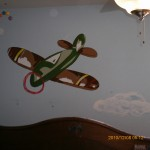 toy planes bedroom