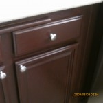 Kitchen cabinet after