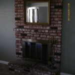 Fireplace Mira Mesa before
