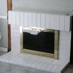 fireplace before mantel